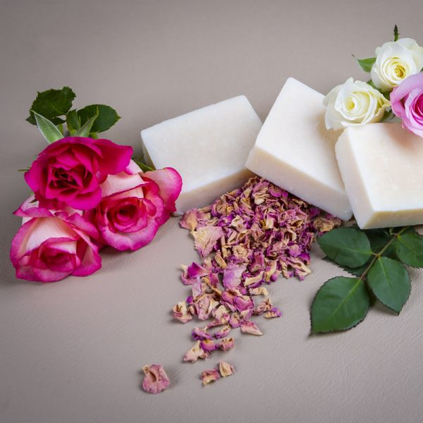 Rosebud Meadow Rose & Geranium Goats Milk Soap